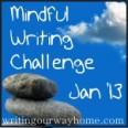 Jan '13 Mindful Writing Challenge